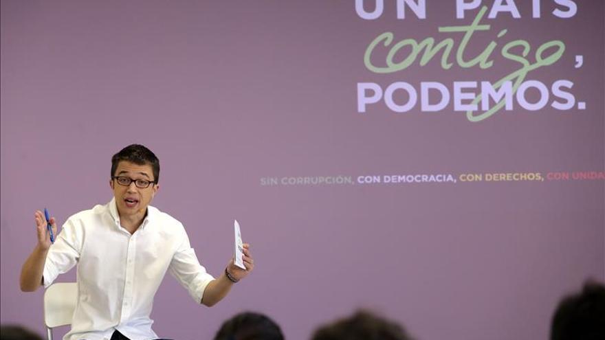 """Errejón dice que celebrar el empleo estacional es """"un proyecto de maltrato"""""""