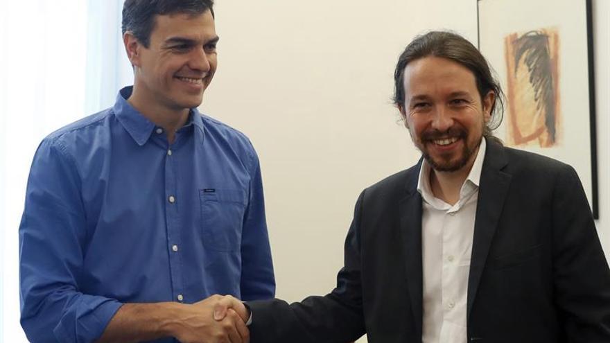 Sánchez e Iglesias arrancan el lunes la negociación para buscar acuerdos