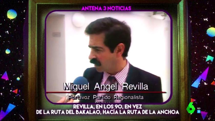 """'Zapeando' rescata una entrevista a Revilla de 1990: """"Parecía Súper López"""""""