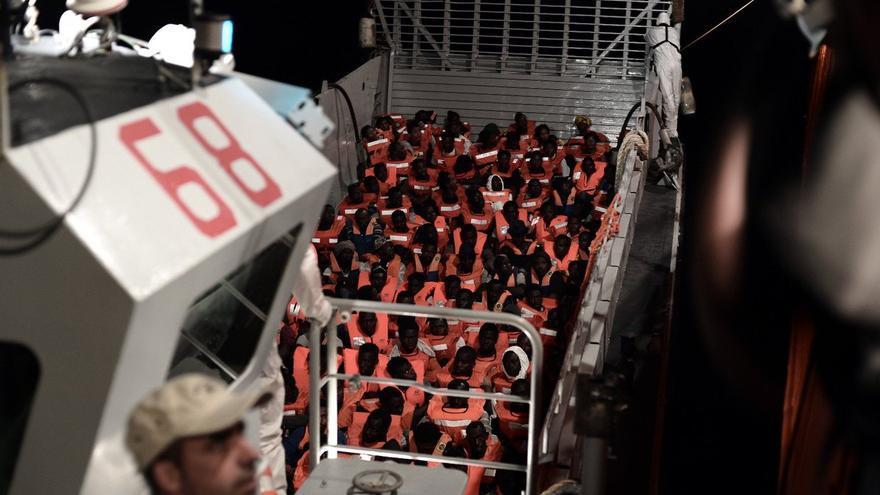 El barco Aquarius el 9 de junio. Karpov / MSF