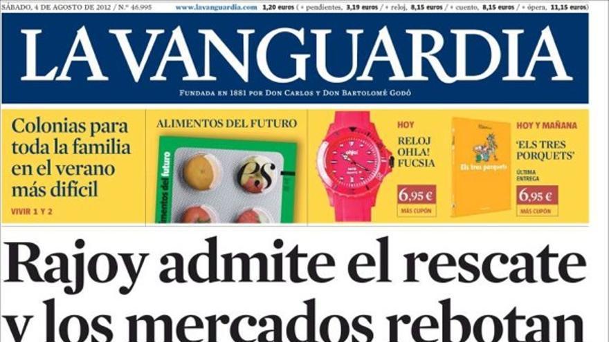 De las portadas del día (4/08/2012) #9
