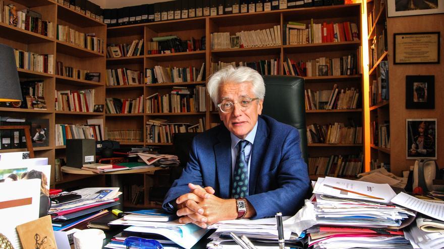 Pascal Perrinou, especialista en sociología electoral y experto en el Frente Nacional / Luna Gámez