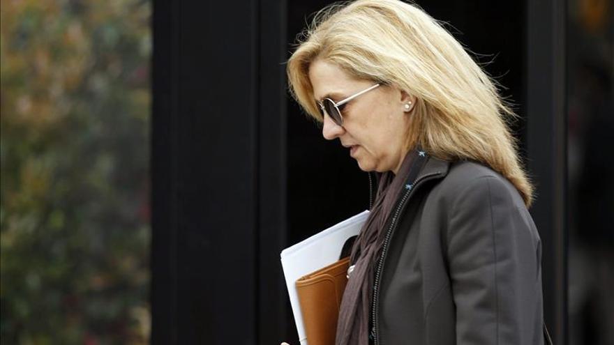 El fiscal reitera al juez que no aprecia indicios incriminatorios contra la infanta