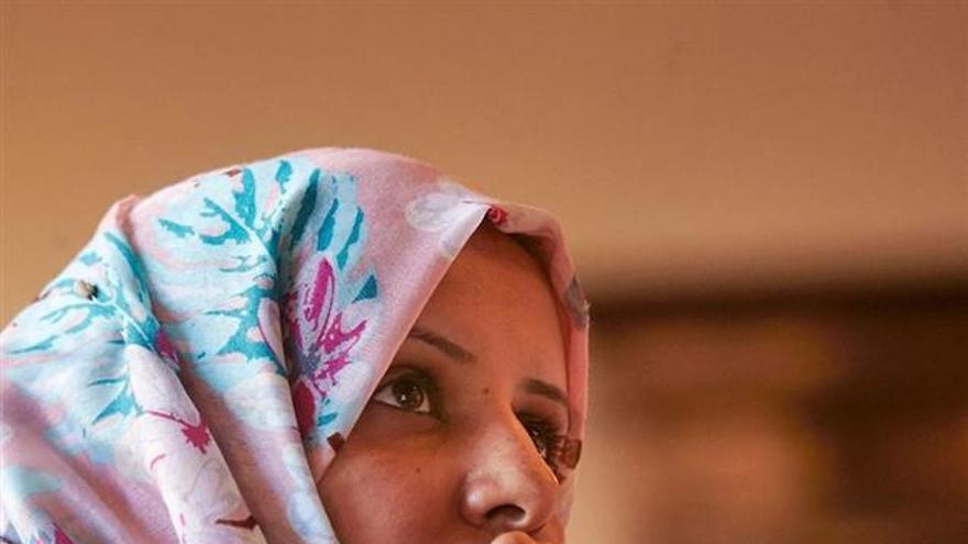 Radhya Almutawakel, activista yemení contra la venta de armas.