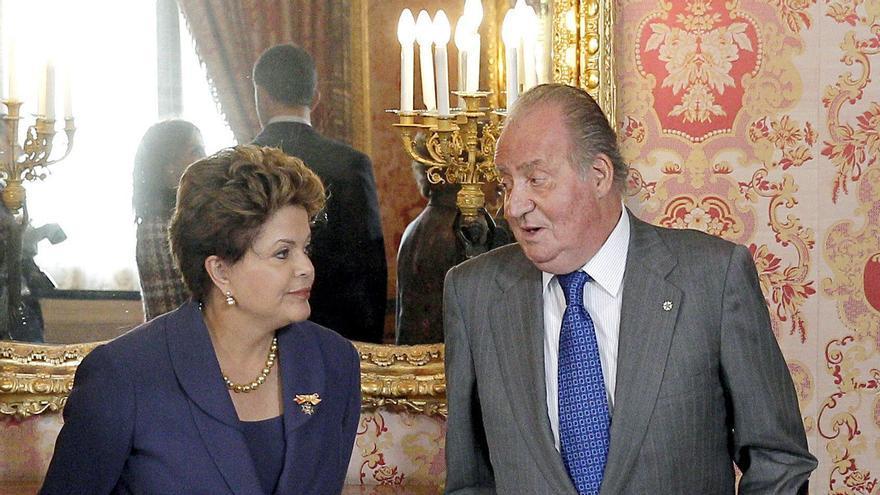 El rey anima a las empresas brasileñas a invertir en España