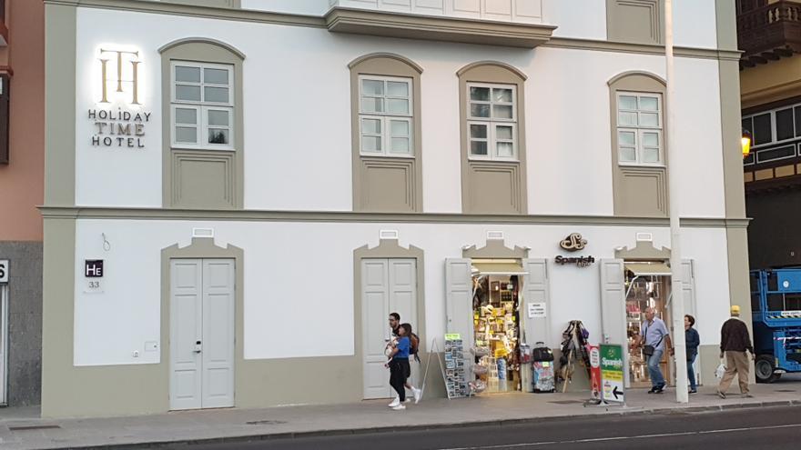 El hotel emblemático de la Avenida Marítima abre sus puertas el sábado.