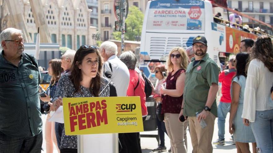 La CUP propone reducir el turismo en Barcelona un 50 % en 2030