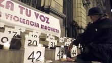 Chunta e IU piden al Gobierno que considere la violencia de género como una cuestión de Estado