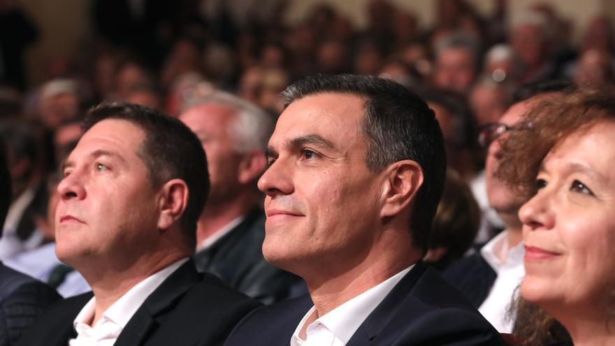 Pedro Sánchez en un mitin en una imagen de archivo.