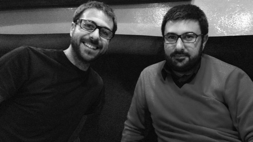 Dos hermanos. Daniel y Diego  Moreno