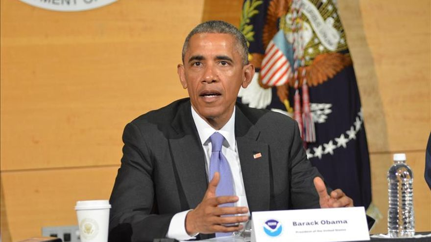 Obama dice que el cambio climático no causa huracanes, pero los hace más fuertes