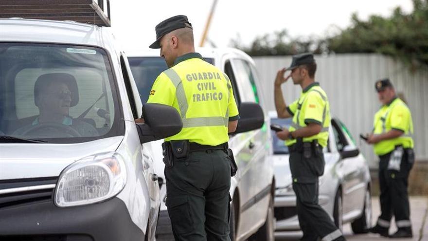 Más de 2.000 conductores dieron positivo en alcohol o drogas en una semana