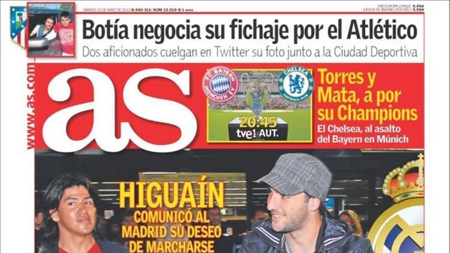 De las portadas del día (19/05/2012) #11