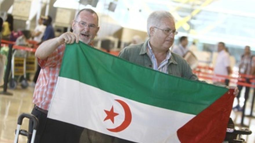 Activistas prosaharauis viajan a Tinduf