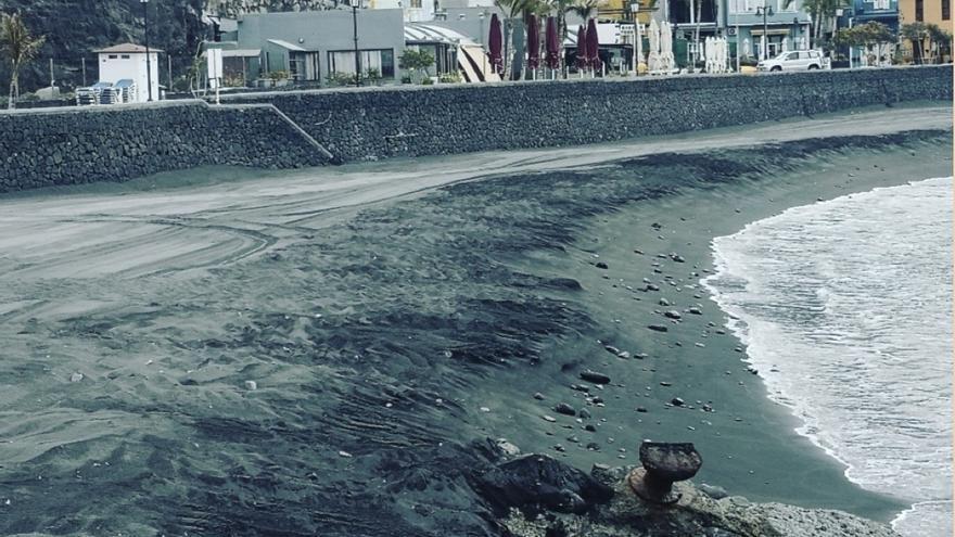 Playa del Puerto de Tazacorte.