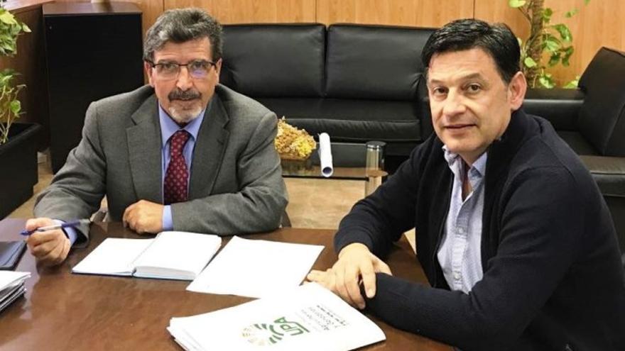 Antonio Luengo (izquierda) y Julián Morcillo