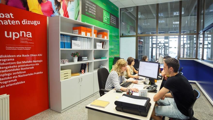 La UPNA pone en marcha un punto de información sobre empleo, prácticas, formación continua, idiomas y emprendimiento