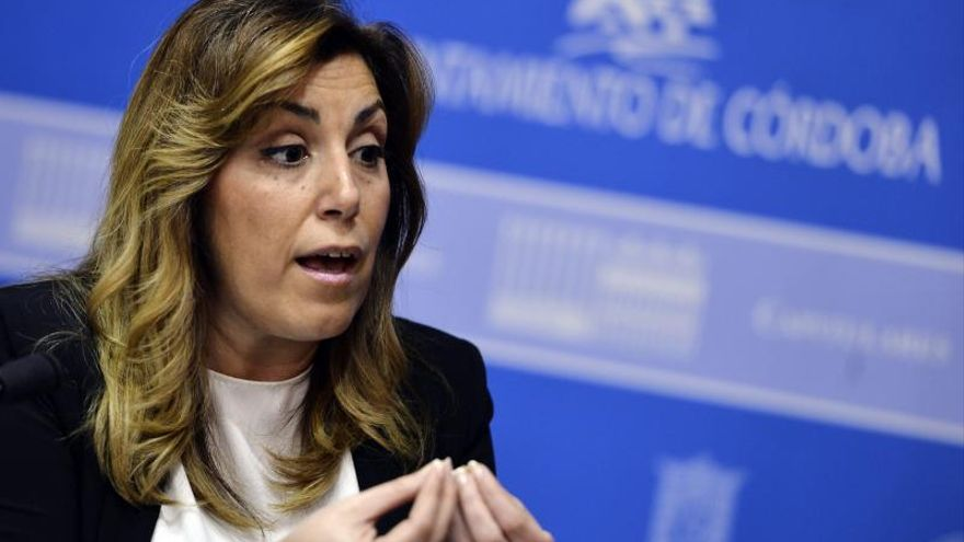 Susana Díaz resta importancia a la fecha de las primarias y pide un PSOE fuerte