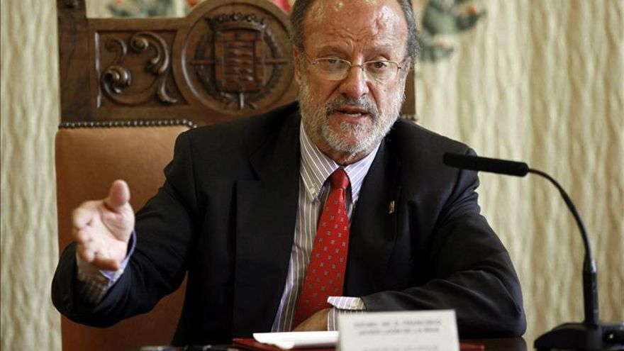 El alcalde de Valladolid, Javier León de la Riva. / Efe