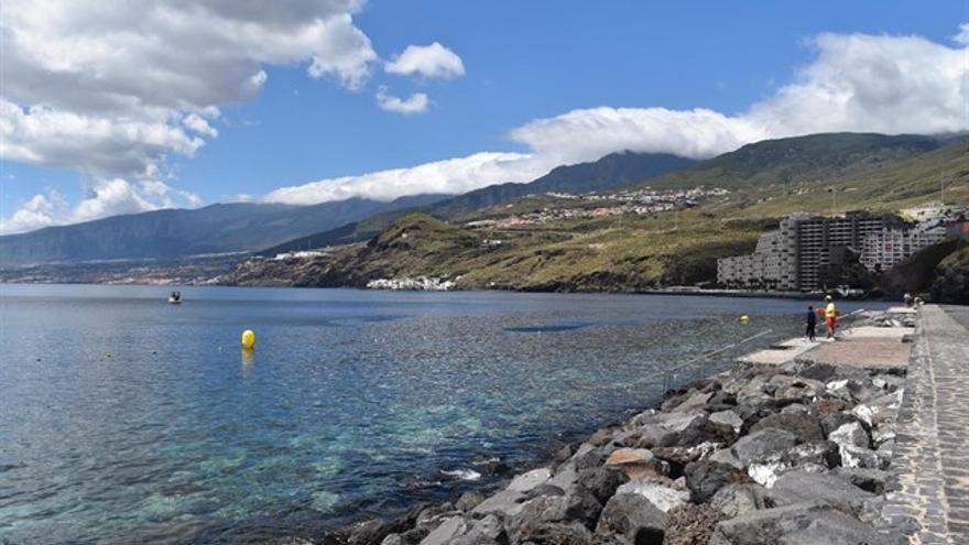 Imagen parcial del litoral de Tabaiba, en El Rosario