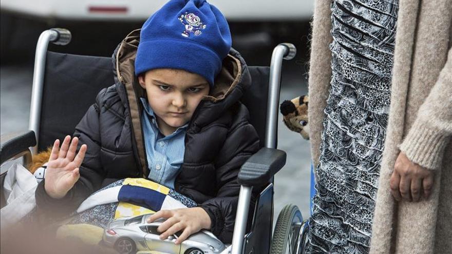 El Hospital High Care confirma la recuperación y el alta del niño Ashya King