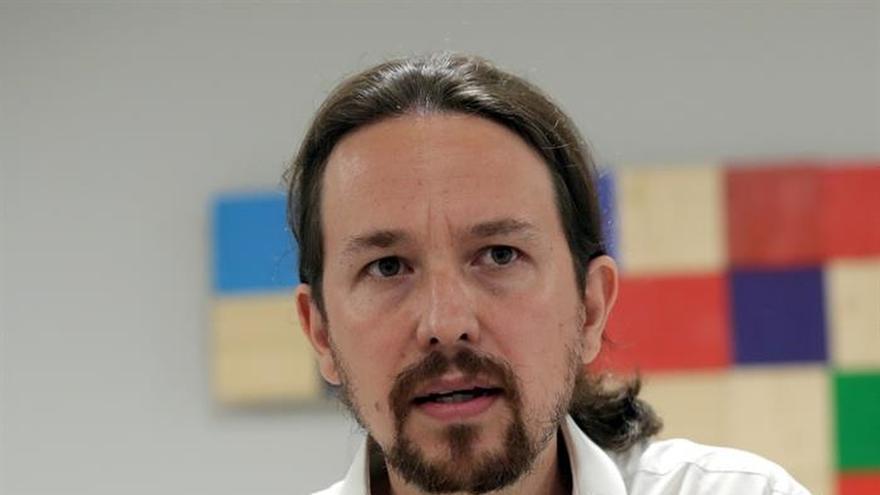 Iglesias ve en la comisión territorial un triste intento del PSOE de apuntarse un tanto