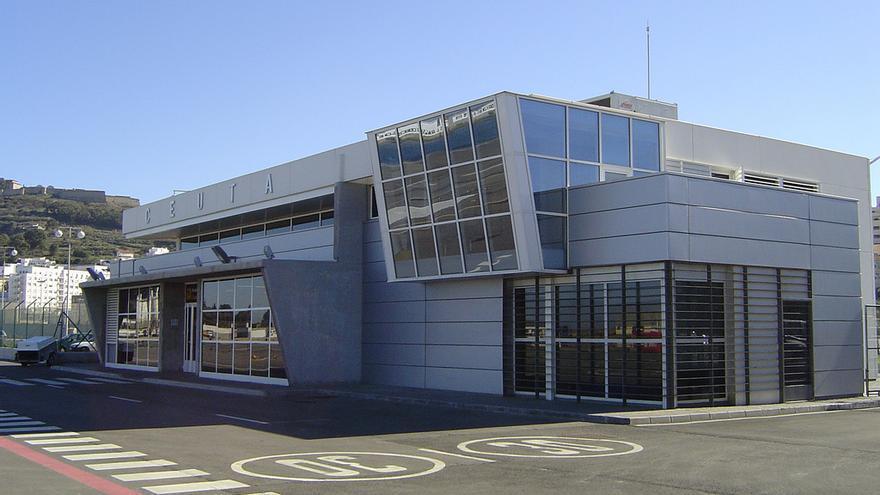 Terminal del helipuerto de Ceuta / JOF
