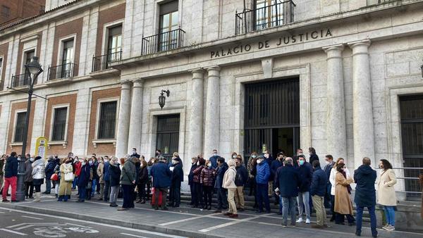 Los jueces de Valladolid reclaman más medidas de seguridad en los juzgados tras el ataque a la magistrada de Segovia
