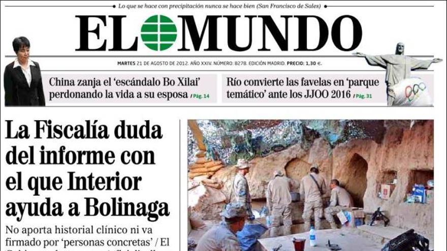 De las portadas del día (21/08/2012) #8
