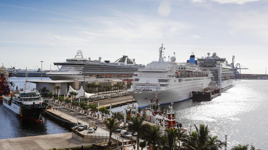 Cruceros en Las Palmas de Gran Canaria ©Flickr LPA Visit