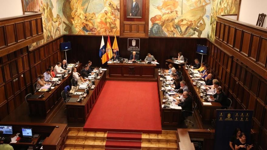 Segunda sesión sobre el debate del estado de Gran Canaria