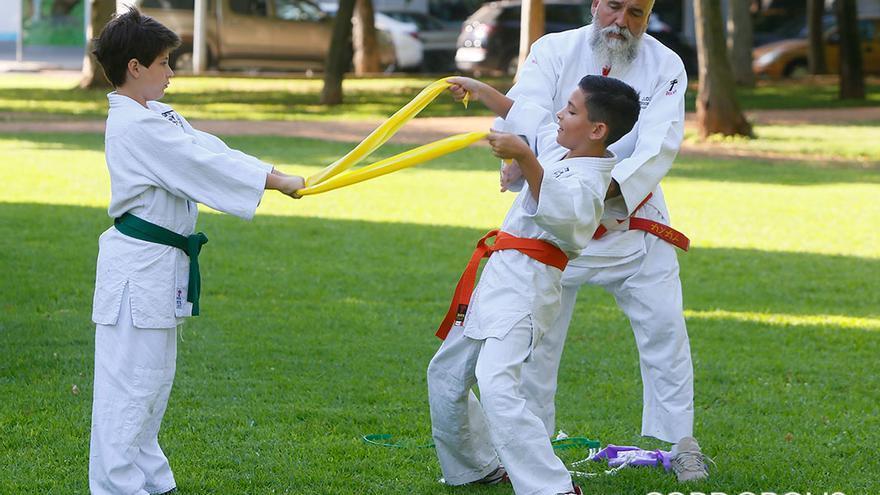 Entrenamiento del Club Kodokan   MADERO CUBERO