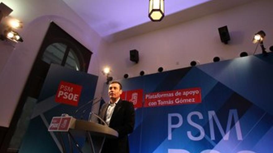 Tomás Gómez, con grupos de apoyo a su candidatura