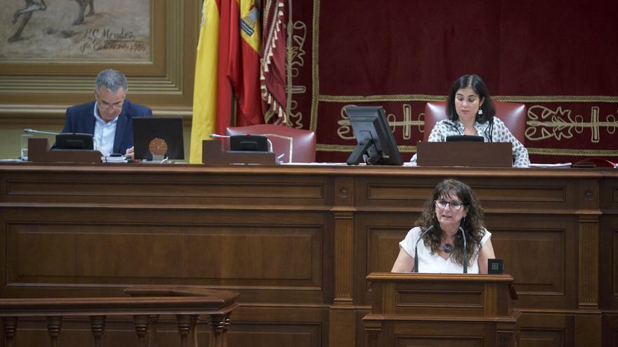 Resultado de imagen de La diputada del Grupo Parlamentario Podemos, Concepción Monzón