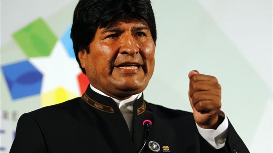 """Morales reclama una salida al mar y dice que Chile """"violó y viola"""" el Tratado 1904"""