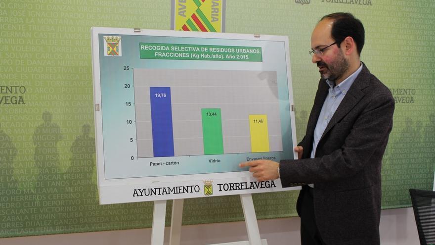 Torrelavega recicló en 2015 más de 2.400 toneladas de residuos urbanos