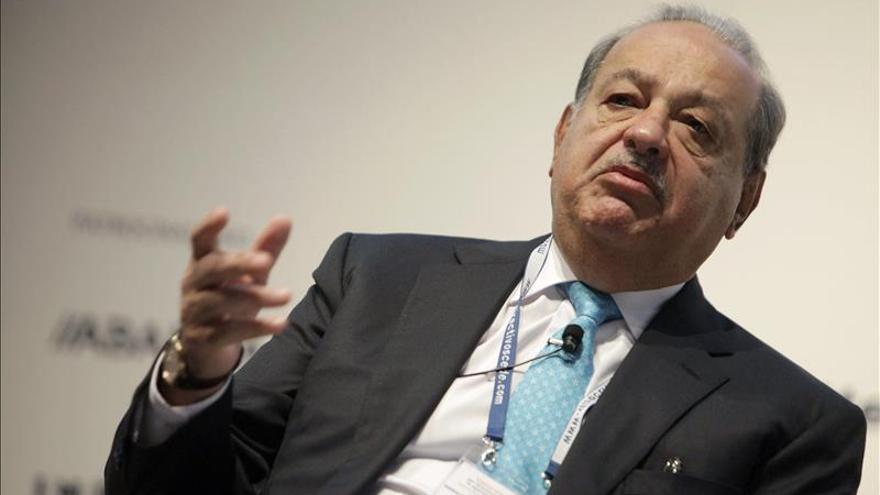 Slim compra a la Sareb un préstamo de 50 millones concedido a Realia