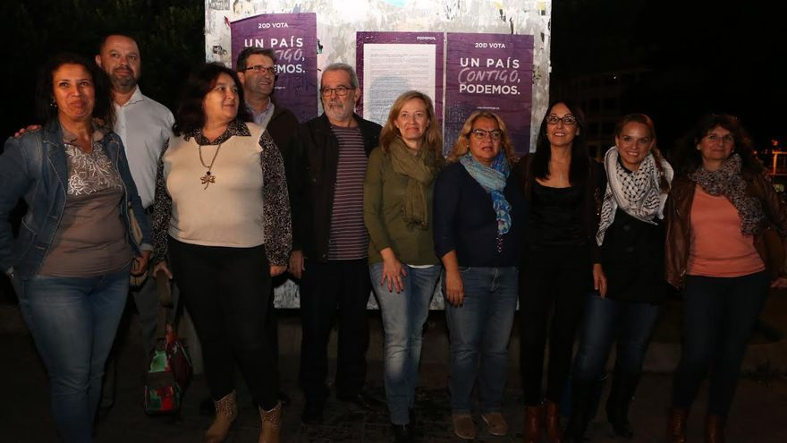 Acto de aranque de campaña de Podemos.