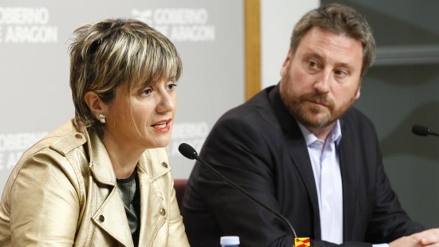 Mayte Andreu y José Luis Soro.