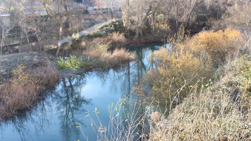 Río Júcar a su paso por Cuenca.