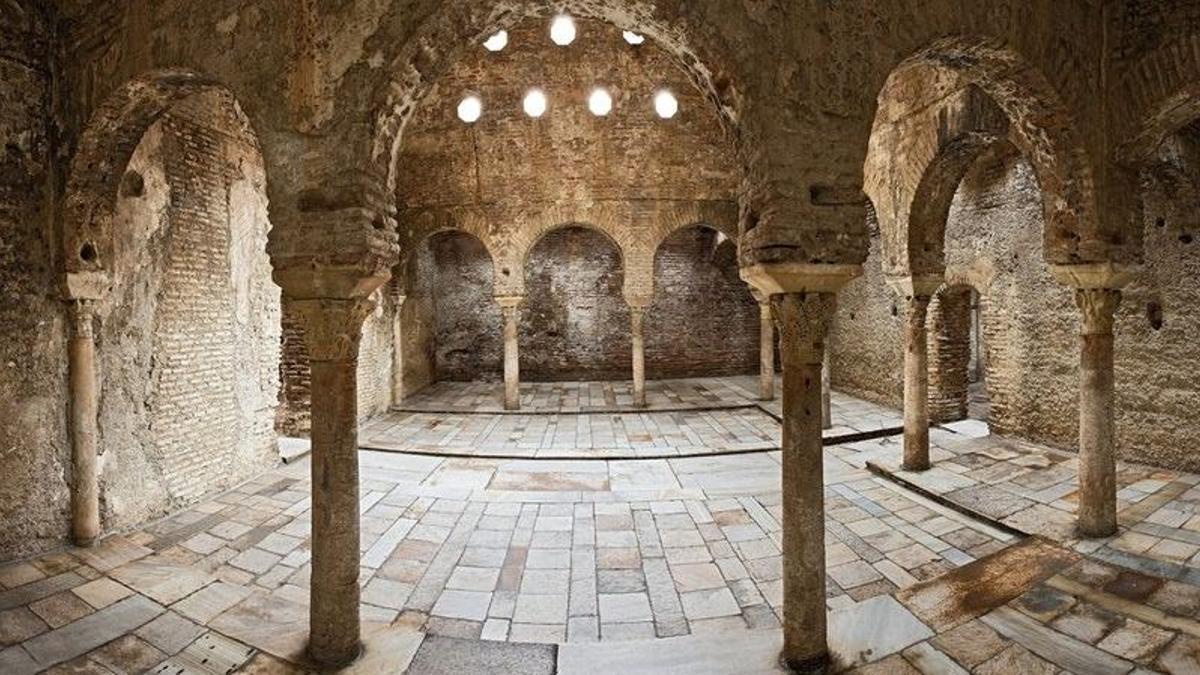Baños árabes de El Bañuelo, en Granada.
