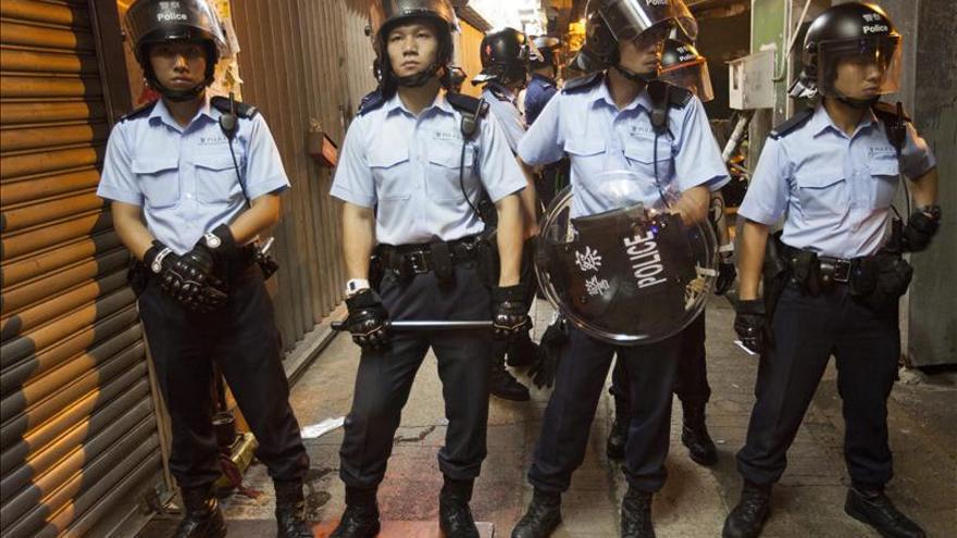 Los líderes Joshua Wong y Lester Shum, entre los detenidos en Hong Kong
