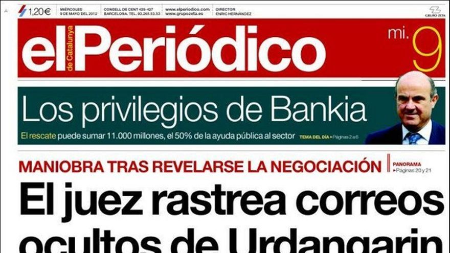 De las portadas del día (09/05/2012) #10