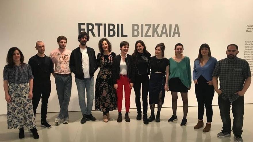 La Diputación foral de Bizkaia premia a las ganadoras de Ertibil Bizkaia 2018 con una residencia de artistas en Japón