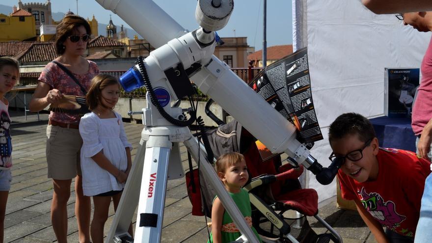 La Feria de la Ciencia de La Orotava vuelve a ser un éxito en su XII edición