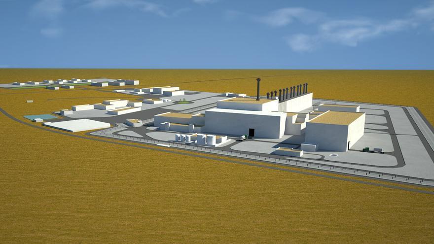 Infografía del futuro ATC de Villar de Cañas