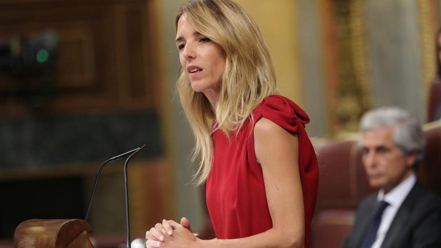 Cayetana Álvarez de Toledo, portavoz del PP en el Congreso de los Diputados