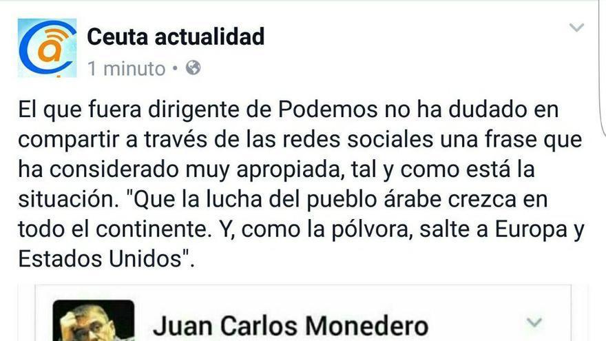Noticia de Ceuta Actualidad.