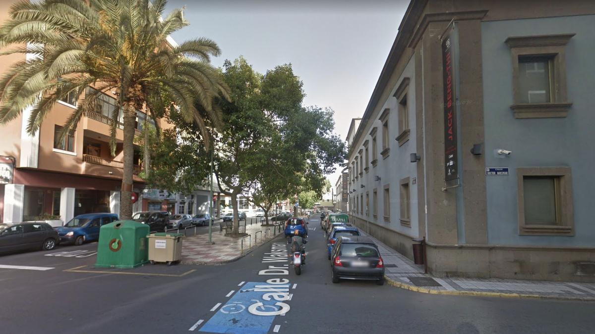 Calle Doctor Waksman, en Las Palmas de Gran Canaria