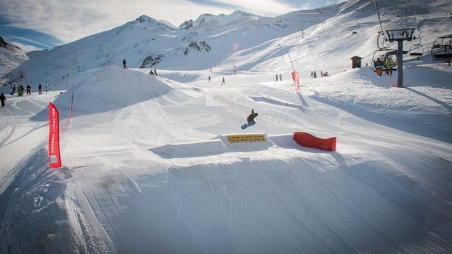 Estación de esquí de Boí Taüll.